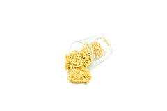 Macarronete secado Foto de Stock Royalty Free
