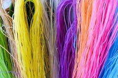 Macarronete seco colorido Imagem de Stock