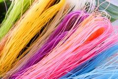 Macarronete seco colorido Imagem de Stock Royalty Free