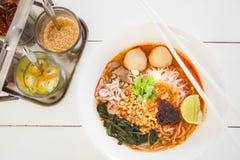 Macarronete tailandês Foto de Stock Royalty Free