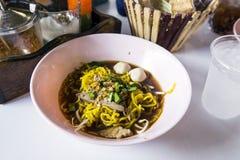 Macarronete tailandês Fotografia de Stock