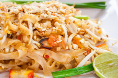 Macarronete tailandês foto de stock