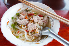 Macarronete tailandês Imagens de Stock Royalty Free