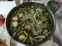 Macarronete tailandês do estilo Fotos de Stock