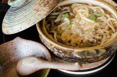 Macarronete tradicional do estilo japonês, Udon Foto de Stock Royalty Free