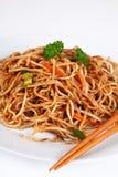 Macarronetes asiáticos Fotografia de Stock Royalty Free