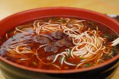 Macarronetes chineses Fotografia de Stock