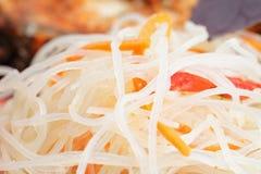 Macarronetes de arroz Fotos de Stock