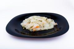 Macarronetes de arroz coreanos Imagens de Stock