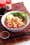 Macarronetes do camarão imagens de stock royalty free