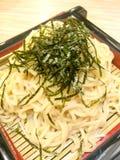 Macarronetes do Udon Fotos de Stock