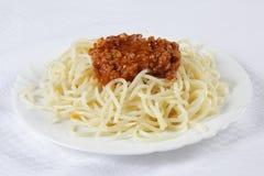 Espaguetes Imagens de Stock