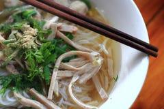 Macarronetes finos Tailândia foto de stock