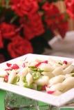 Macarronetes frios cozinhados Imagem de Stock Royalty Free