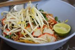 Macarronetes tailandeses Fotos de Stock Royalty Free