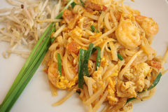 Macarronetes tailandeses do estilo Imagem de Stock Royalty Free