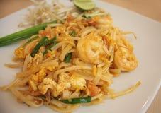 Macarronetes tailandeses do estilo Imagens de Stock Royalty Free
