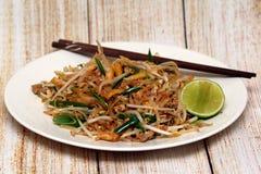 Macarronetes tailandeses do estilo de Padthai Imagem de Stock Royalty Free