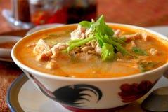 Macarronetes tailandeses do sabor Foto de Stock