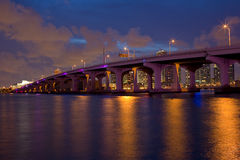 MacArthur Causeway Royalty Free Stock Photography