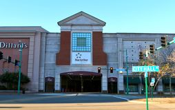 The MacArthur Mall in Downtown Norfolk Virginia Stock Photo