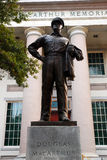 MacArthur minnesmärke i Norfolk Virginia Arkivbild