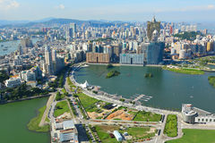 Macau. City skyline at day time Stock Photos