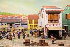 Macau Ancient Life Model, Macau, China Stock Image