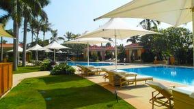 MACAU casino pool. Filmed in MACAU casino and hotel Stock Photography