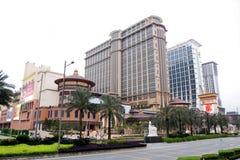 Macau: Central de Contai das areias imagens de stock