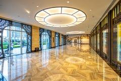 Macau, China - Apr 23, 2019: Studio City hotel interior royalty free stock photos