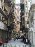A recording from daily life in Macau stock photos