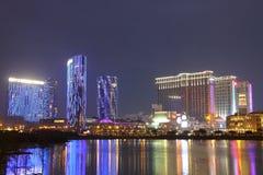 Macau: Cidade da central de Contai dos sonhos & das areias Fotos de Stock