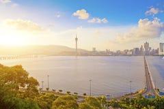 Macau city at day Stock Image