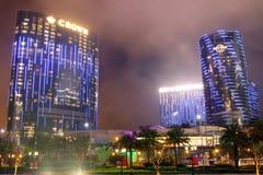 Macau : City of Dreams royalty free stock photo