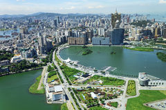 Macau city skyline Stock Image