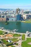 City skyline of Macau Royalty Free Stock Photo