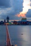 Macau city view Stock Images