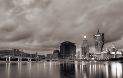 Macau cityscape Stock Photography
