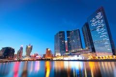 Macau cityscape of bridge and skyscraper Macao. Asia Royalty Free Stock Photos