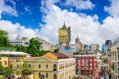 Macau Cityscape Royalty Free Stock Photos
