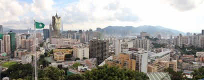Macau cityscape panorama, China Stock Images