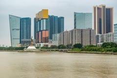 Macau cityscape Stock Image
