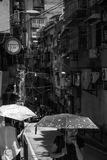Macau commuters Royalty Free Stock Photos