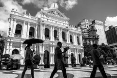 Macau commuters Stock Photography