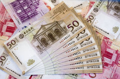 Macau dollar (patacas) Stock Images