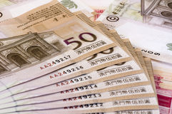 Macau dollar (patacas) Royalty Free Stock Photos