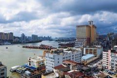 Macau downtown city Stock Photography