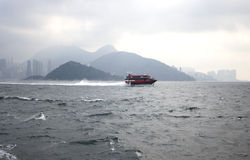 Macau Fast Ferry Royalty Free Stock Images