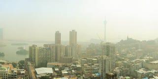 Macau in the fog Stock Photography